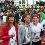 Die Lehrer, Schülerinnen und Schüler der Carlo Schmid Schule nehmen an Badische Meile 2016 teil