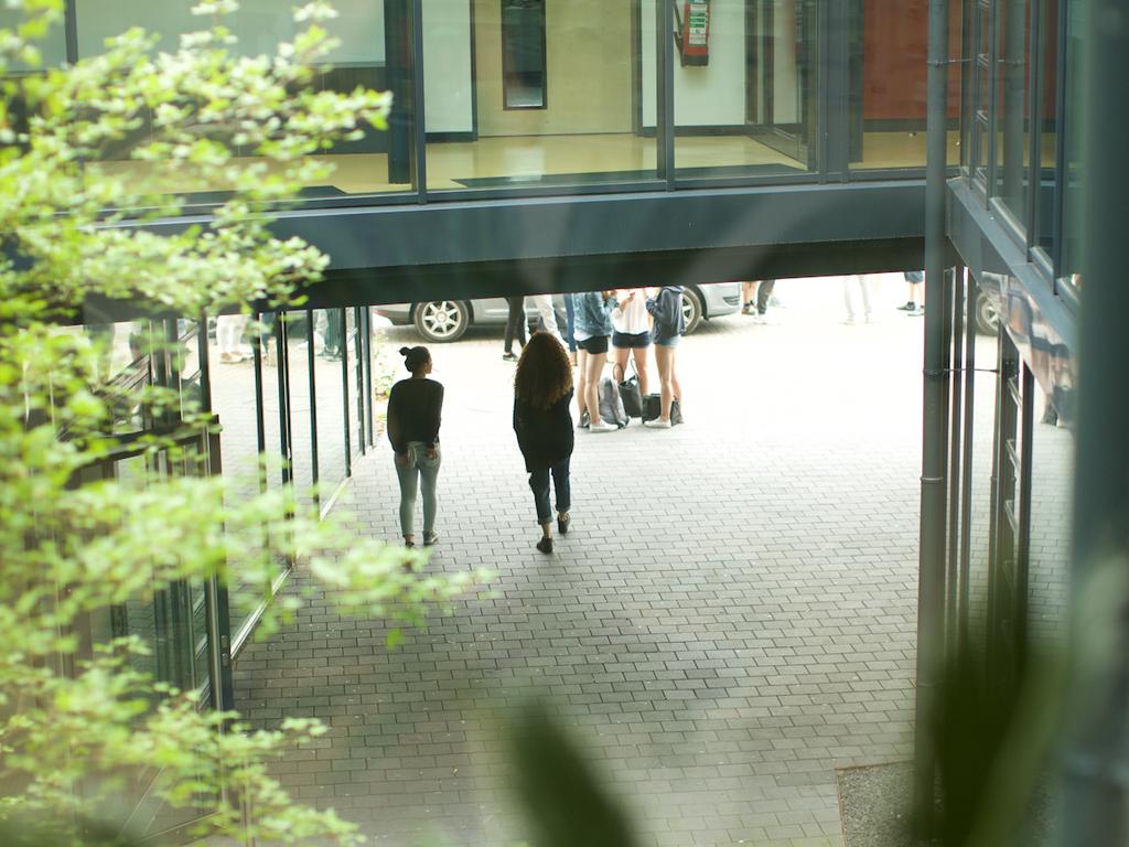 Die Carlo Schmid Schule in Karlsruhe
