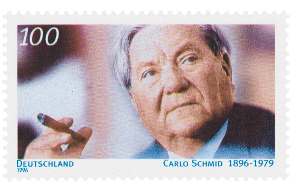 Carlo Schmid Briefmarke