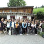 Die Schüler und Schülerinnen der Carlo Schmid Schule unternahmen ihre Studienfahrt in Südtirol