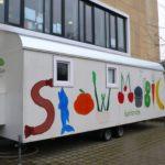 Das Slowmobil an die Carlo Schmid Schule