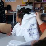 Kinderhaus am Schlossstrahl zu Besuch bei den Schülerinnen und Schüler der Erzieherausbildung an der Carlo Schmid Schule Karlsruhe
