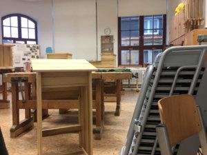 Schulinterne Werkstatt der Carlo Schmid Schule Pforzheim