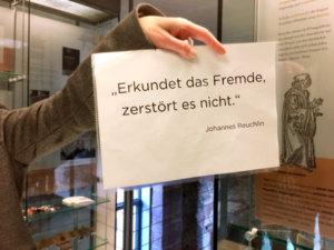 Zu Besuch im Museum Johannes Reuchlin