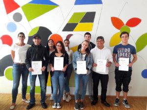 Schülerinnen und Schüler der Carlo Schmid Schule erhalten Preise