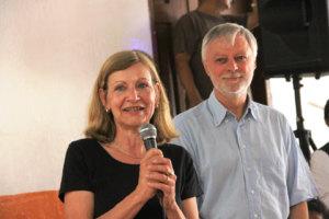 Schulpartnerschaft mit Ecuador / Schulleiterin Sylvia Zürker und Geschäftsführer der  KEK (Karlsruhe Energie- und Klimaschutzagentur)  Dirk Vogeley
