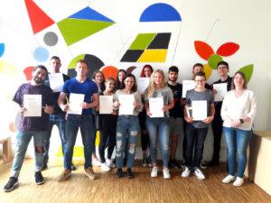 Schülerinnen und Schüler der Carlo Schmid Schule erhalten nach Teilnahme am 60. Schülerwettbewerb Preise